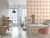 Moderne Muster auf hochwertiger Tapete