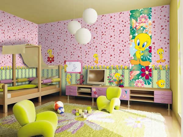 Kinder-Kollektion Wonderland Rasch Textil