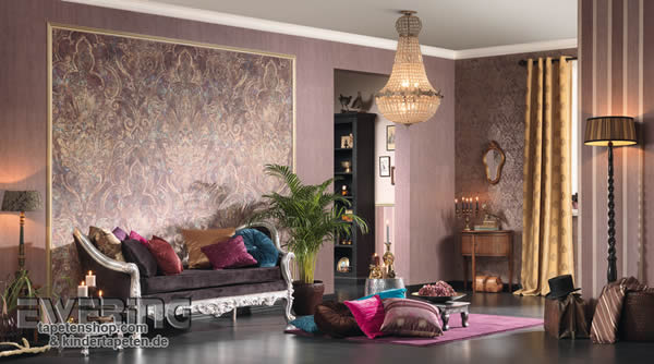 tapeten mit orientalischem touch bohemian as creation ewering blog. Black Bedroom Furniture Sets. Home Design Ideas