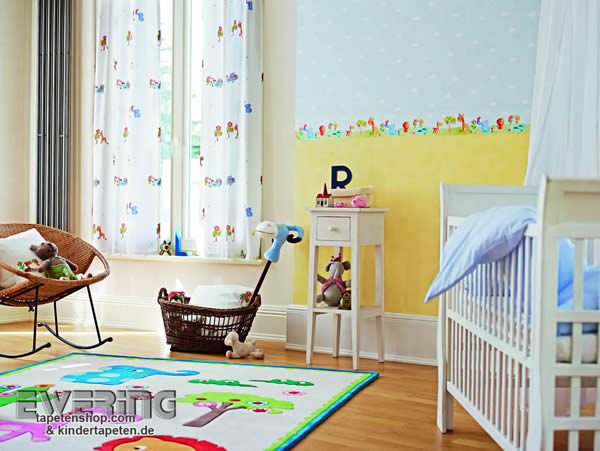 neue kindertapeten esprit kids 3 von as creation. Black Bedroom Furniture Sets. Home Design Ideas