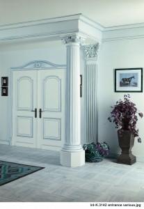 Stuck-Säulen zur Raumdekoration