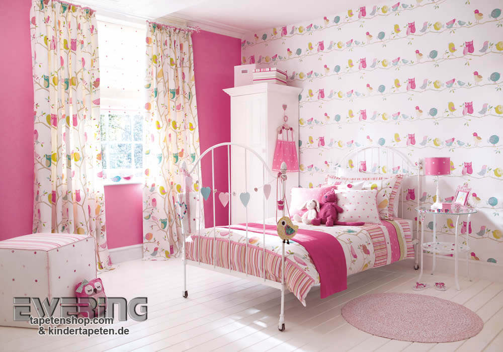 what a hoot kreative kinderzimmer tapeten ewering blog. Black Bedroom Furniture Sets. Home Design Ideas
