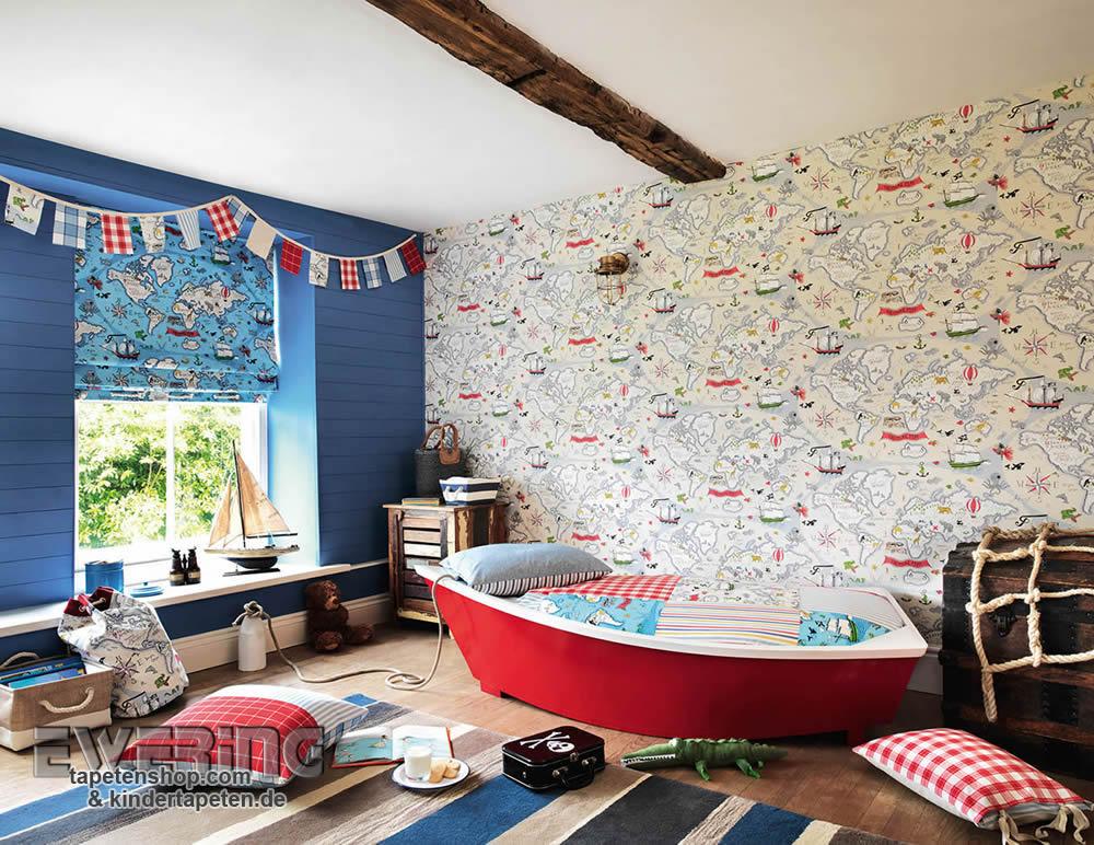 Tapeten und Stoffe für jedes Kinderzimmer – Abracazoo von Sanderson ...