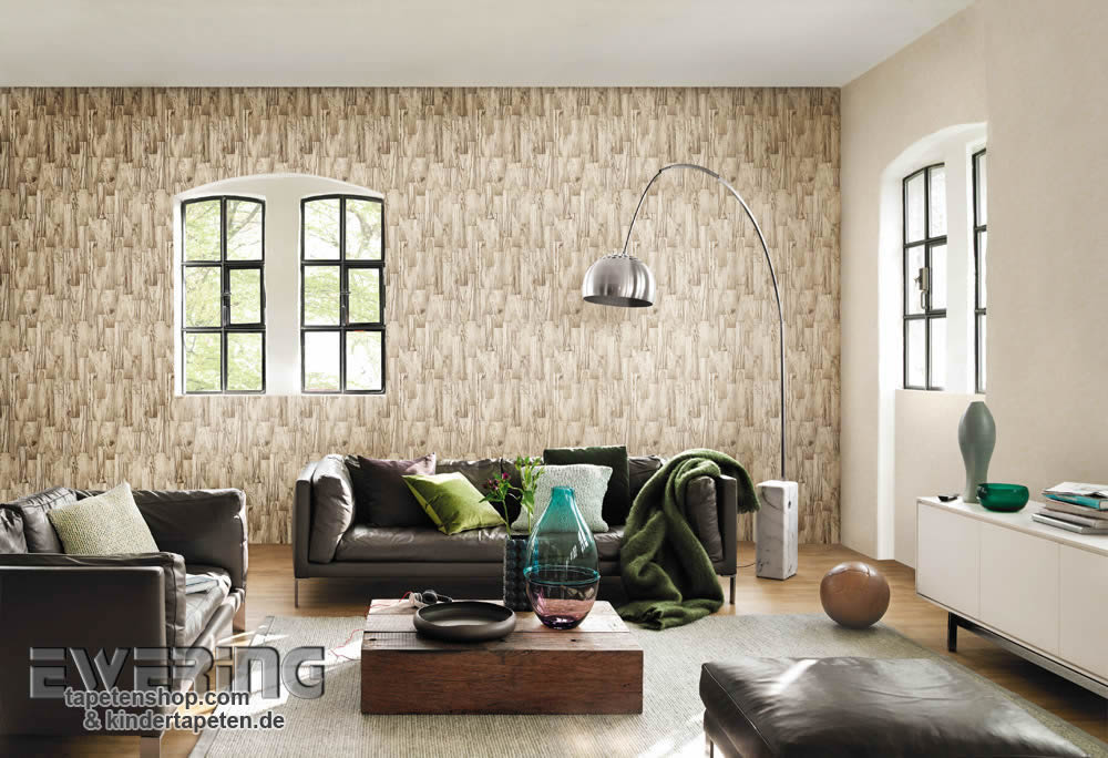 factory ii tapeten mit natur optiken im modernen. Black Bedroom Furniture Sets. Home Design Ideas