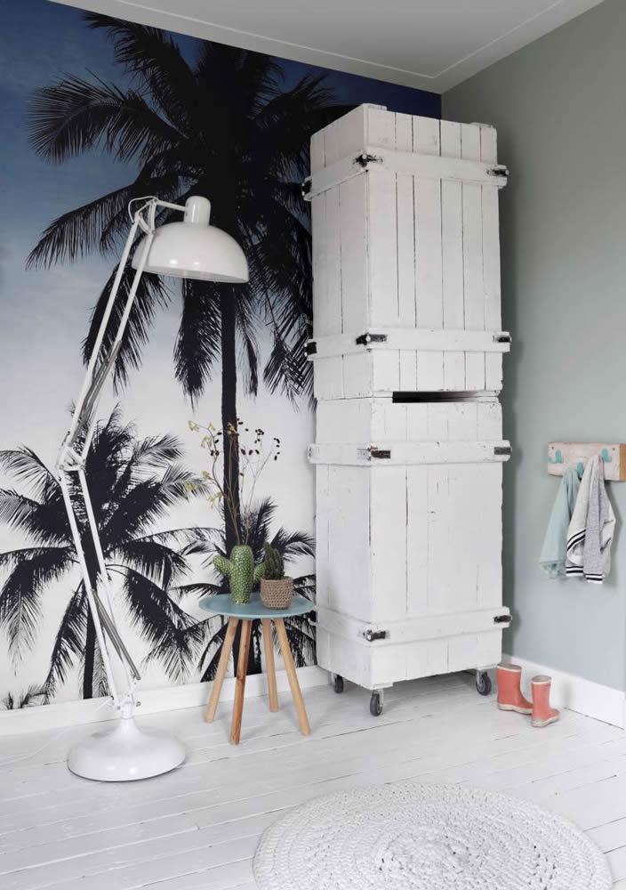 Fototapete Wandbild Regatta Crew Surf Edition Rasch Textil Palmen Sonnenuntergant Urlaub Jugendzimmer