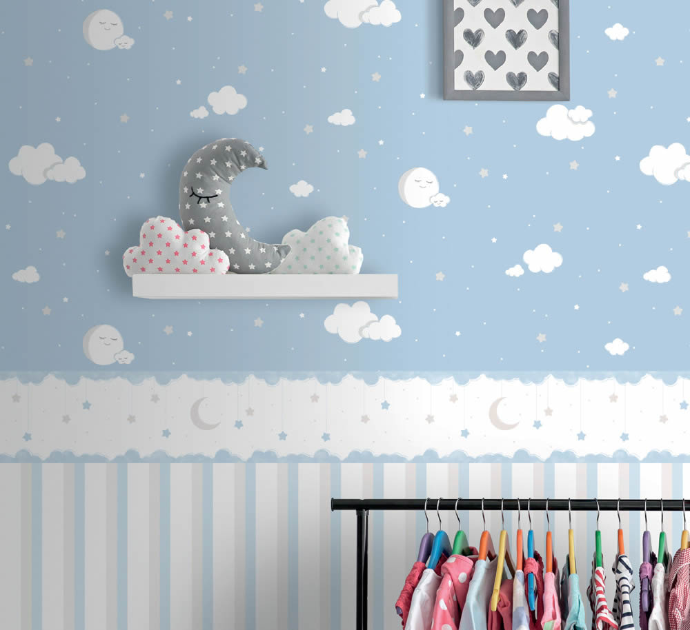 Rasch Textil – Lullaby: Tapeten und Bordüren in zarten ...